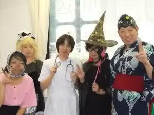 "Halloween party ""ファッションショー"""